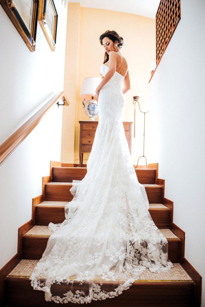 Fotografo di matrimonio a Castello Monaci