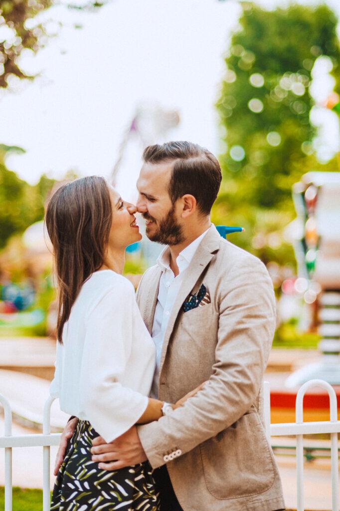 Fotografo di matrimonio creativo a Roma